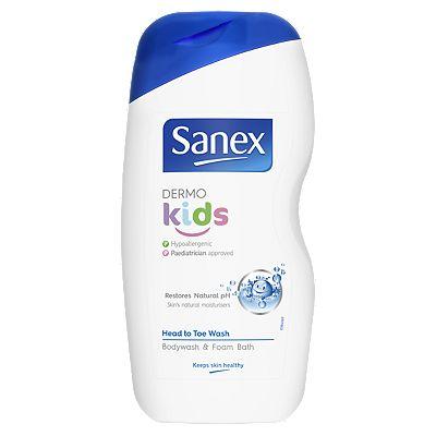 Sanex Dermo Kids Shower Gel & Bath Foam 500ml