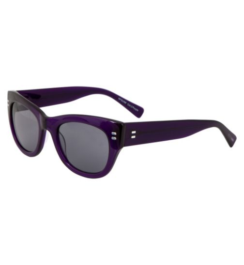 Nicole Farhi Women's Purple Sunglasses - NFSUN8