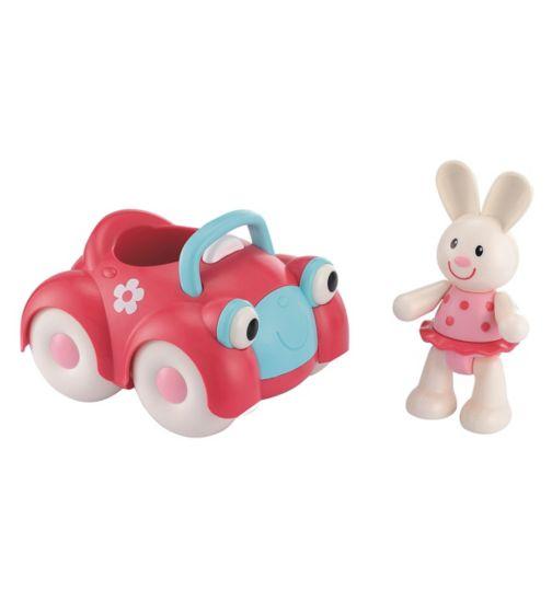 ELC Toy Box Car and Rosie Rabbit