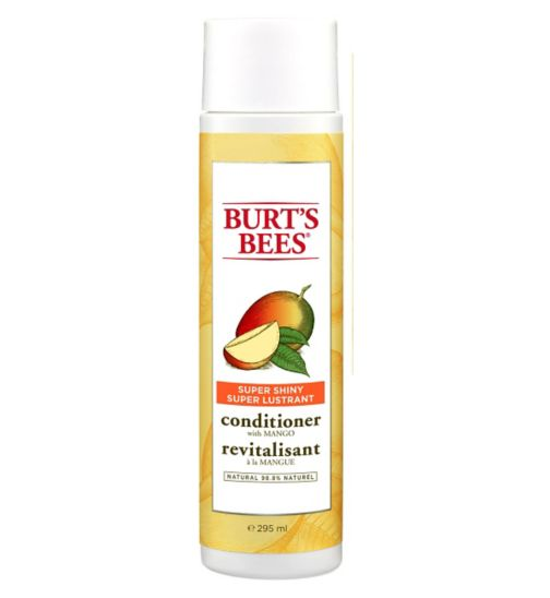 Burt's Bees Super Shiny Mango Shampoo, 300ml