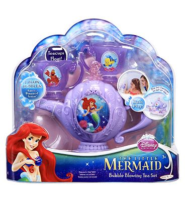 Disney Princess Ariels Bubble Blowing Teaset