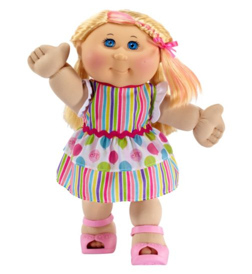 Cabbage Patch Kids Celebration Kid with Straight Blonde Hair