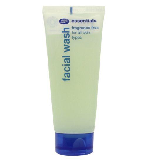 Boots Essentials Fragrance Free Facial Wash 150 ml