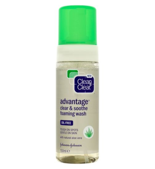 Clean & Clear® Advantage® Clear & Soothe Foaming Wash