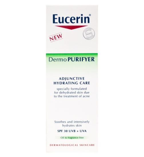 Eucerin Dermo Purifyer Adjunctive Hydrating Care SPF30 50ml