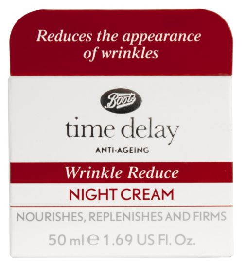 BootsTime Delay Wrinkle Reducing Night Cream 50ml