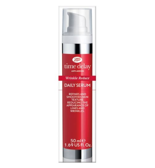 Boots Time Delay Wrinkle Reduce Daily Serum 50ml