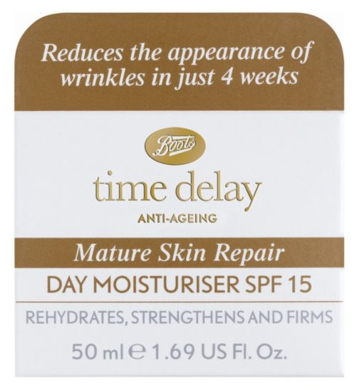 Boots Time Delay Mature Day Cream SPF15