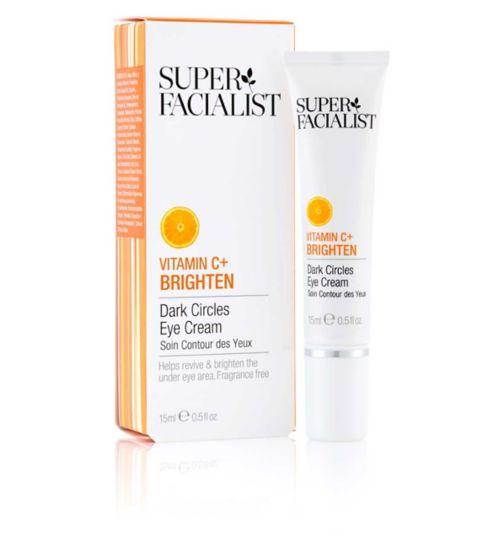 Superfacialist Vitamin C+ Dark Circles Eye Cream 15ml