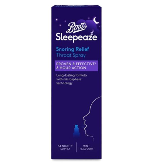Boots Sleepeaze Snoring Throat Spray 42ml