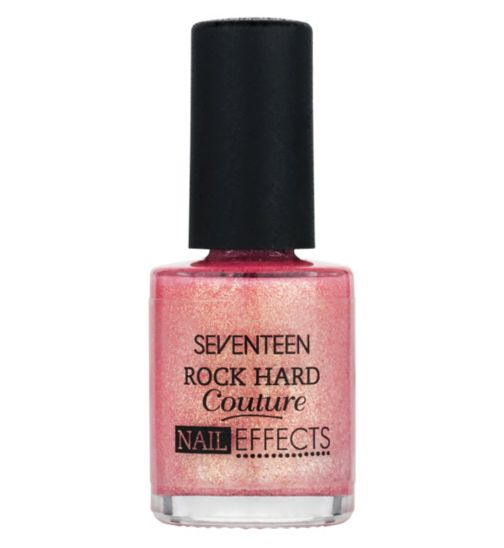 Seventeen Rock Hard Couture Nail effects