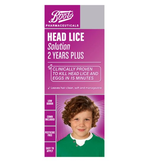 Boots Pharmaceuticals Head Lice Solution