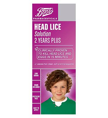 Click to view product details and reviews for Boots Head Lice Solution.