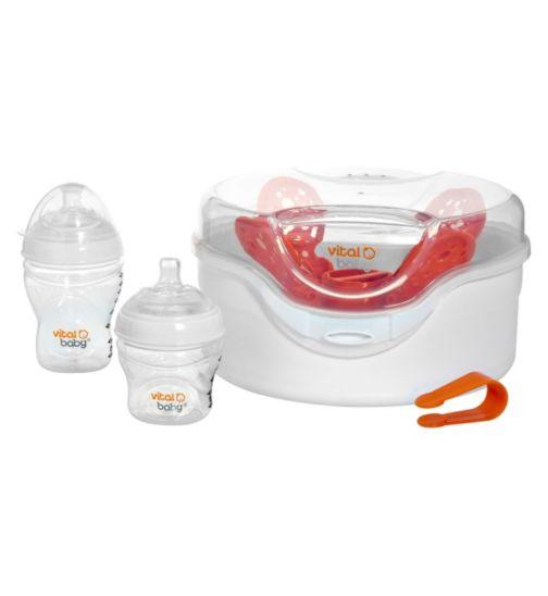 Vital Baby Nurture Microwave Steriliser