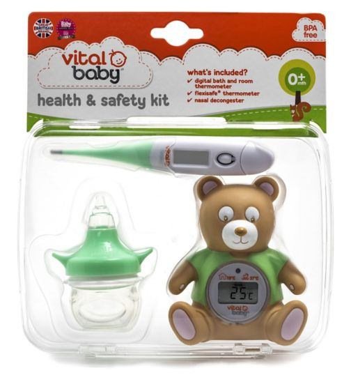 Vital Baby Health & Safety Kit