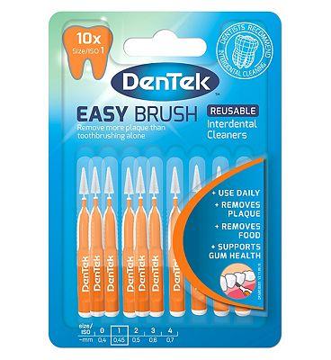 DenTek easy brush Interdental Cleaners ISO1