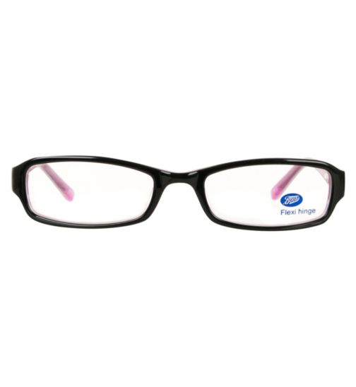 Boots Delight Kids' Black Glasses - Free with NHS voucher
