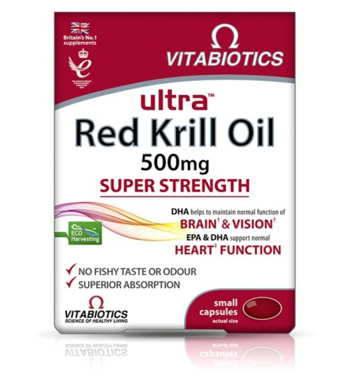 Vitabiotics Ultra Krill Oil