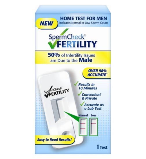 Spermcheck Male Fertility Test