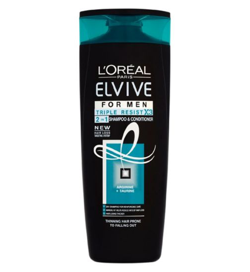 L'Oréal Elvive Men Triple Resist 2in1 400ml