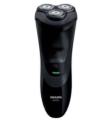 Philips AquaTouch AT899 Wet & Dry electric shaver with Aquatec seal and Triple Flex heads