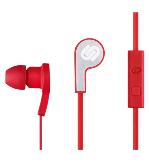 Urbanista Paris Stereo Headphone with Hands Free in Red