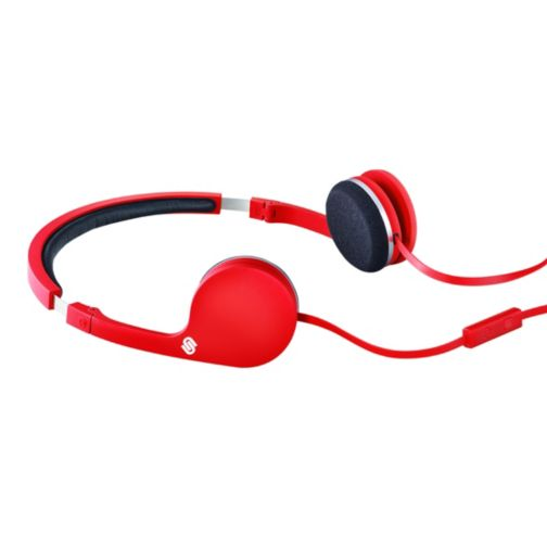 Urbanista Barcelona Stereo Headphones with Hands Free in Red