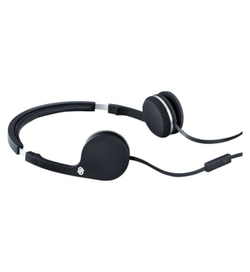 Urbanista Barcelona Stereo Headphones with Hands Free in Black