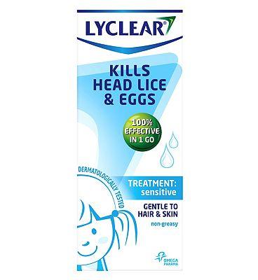Lyclear Treatment Sensitive 150ml