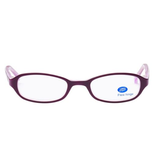 Boots Charm Kids' Purple Glasses - Free with NHS voucher