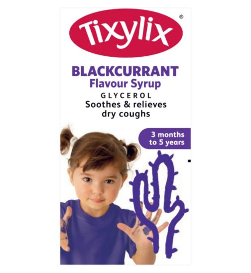Tixylix Blackcurrant Flavour Syrup - 100ml