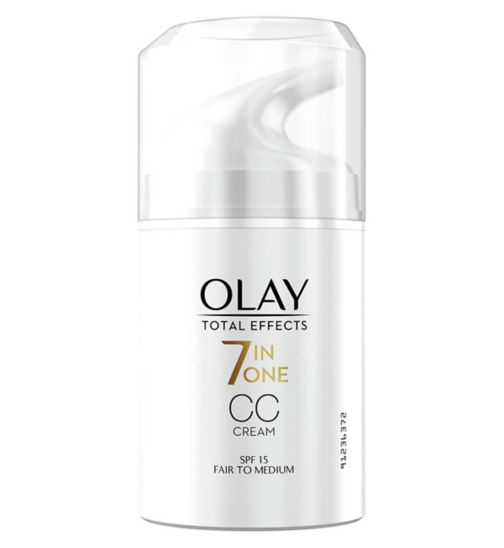 Olay Total Effects 7in1 CC Cream Moisturiser Fair To Medium 50ml