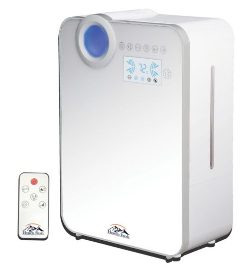 Heaven Fresh HF758 Digital Ultrasonic Cool & Warm Mist Humidifier