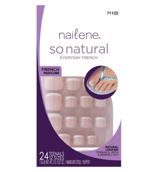 Nailene So Natural Toe Nails