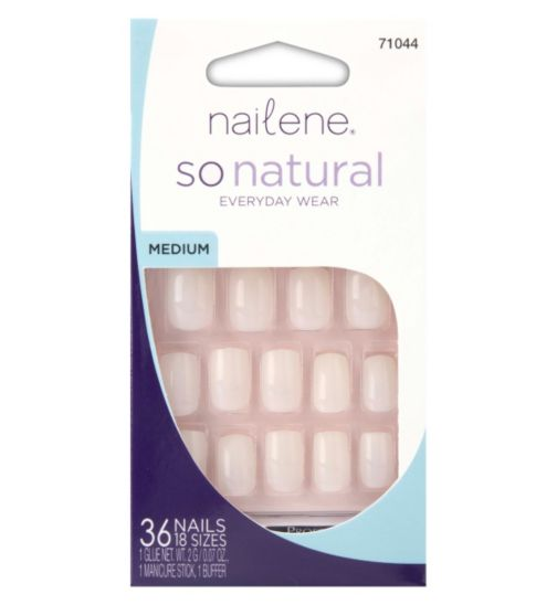 Nailene So Natural Everyday Wear - Medium Undecorated