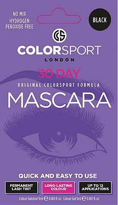 Colorsport 30 Day Mascara Black Eyelash & Brow Dye Kit