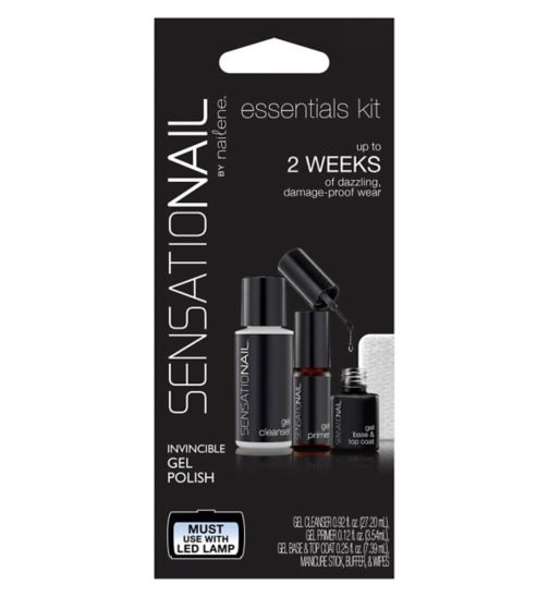 Sensationail  Gel Polish Essentials Kit