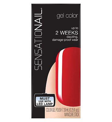 SensatioNail Gel Polish Scarlet Red