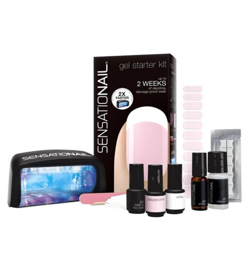 SensatioNail Starter Kit French Manicure