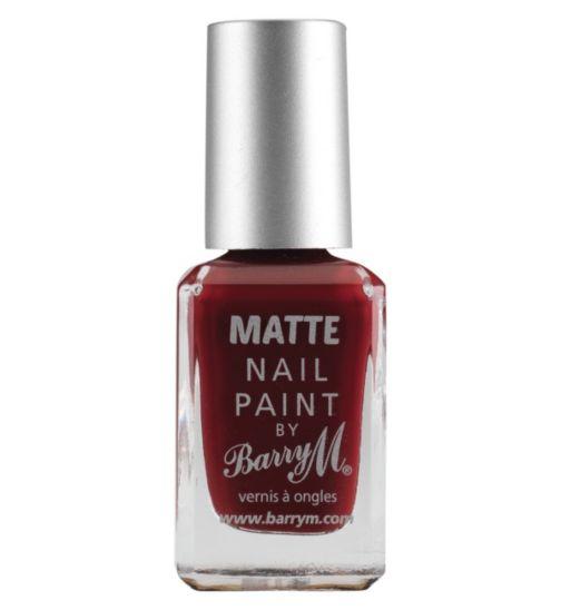 Barry M Matte Nail Paint