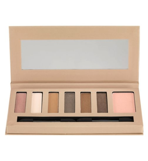 Barry M Natural Glow Eye Shadow and Face Blusher Palette