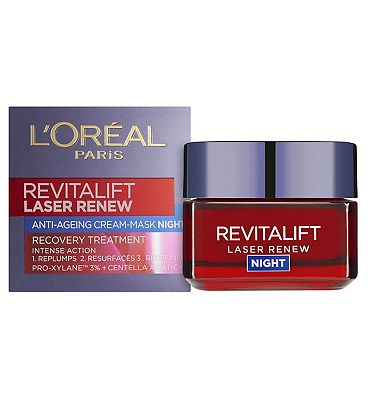 Image of L'Oral Revitalift Laser Renew Night Cream 50ml