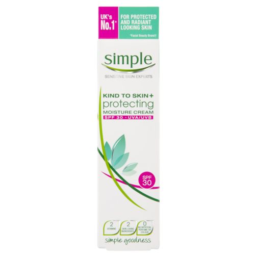 Simple Kind to Skin+ Protecting Moisture Cream SPF30 UVA/UVB 50ml