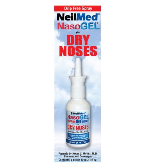 NeilMed NasoGel Drip Free Gel Spray - 30ml