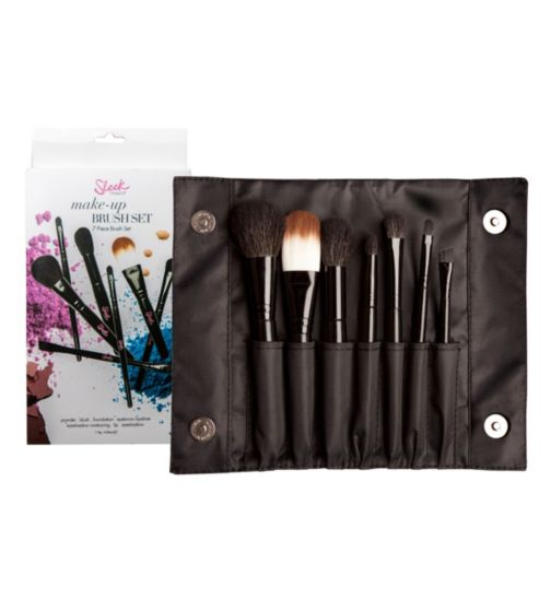 Sleek MakeUp 7 Piece Brush Set