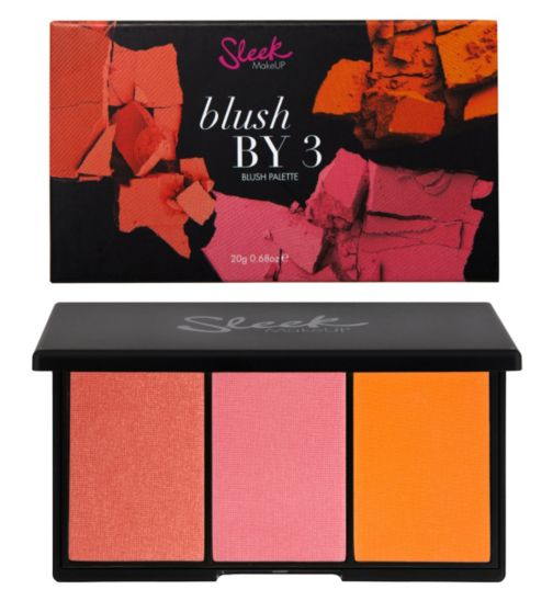 Sleek MakeUp Blush By 3 Palette