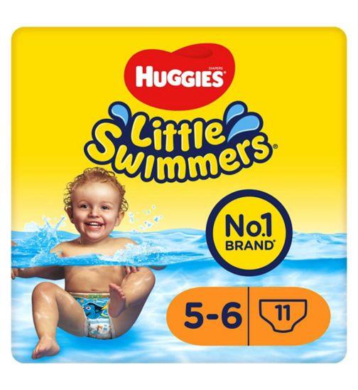 Huggies Little Swimmers 11 pants size 5-6