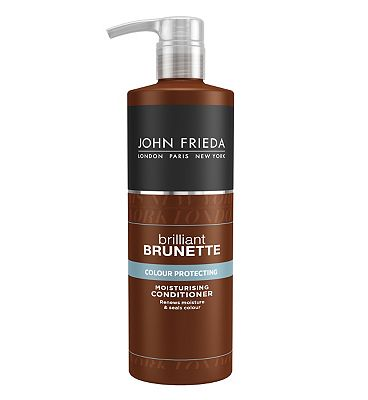 John Frieda Brilliant Brunette Moisturising Conditioner 500ml
