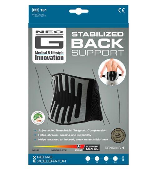 Neo G RX Stabilized Back Brace - Large