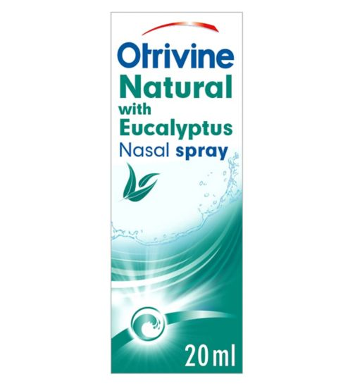 Otrivine Natural Nasal Spray - 20ml